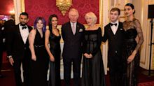 Did Prince Charles just tell model Neelam Gill to keep her 'curves'?