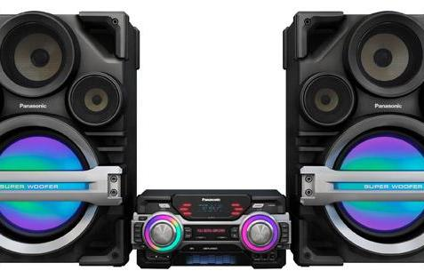 Panasonic thinks you'll pay $1,200 for a home stereo with neon subwoofers