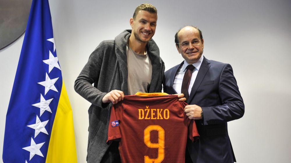 """Roma, Dzeko guarda al futuro: """"Ho davanti altre 2 stagioni ad alto livello"""""""