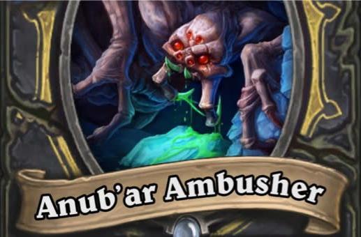 Anub'ar Ambusher joins Curse of Naxxramas lineup