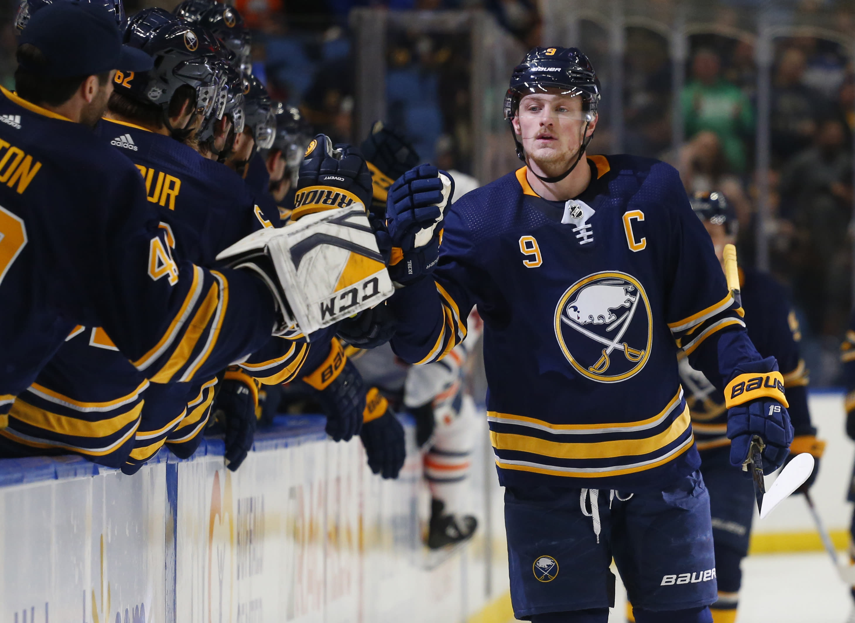 purchase cheap 5c9c5 956a8 Sabres captain Eichel disagrees with NHL's 2-game suspension