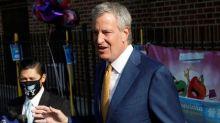 New York City will run out of coronavirus vaccine by next week, Mayor Bill de Blasio says
