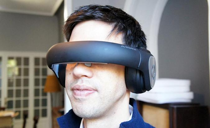 Avegant's Glyph video headset will change how you see movies