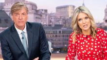 'Pumpkin-like': Richard Madeley sorry for tan on Good Morning Britain