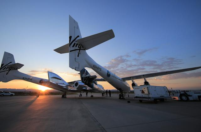 Virgin Galactic may attempt a rocket-powered test flight next week