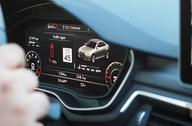 Audi's traffic light countdown tech comes to Washington DC