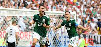 Mexico stuns German defending World Cup champs