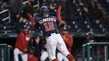 Kyle Schwarber homer lifts Nationals over Diamondbacks 1-0