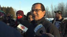 Grateful to Kahnawake people, says Wet'suwet'en hereditary Chief Woos
