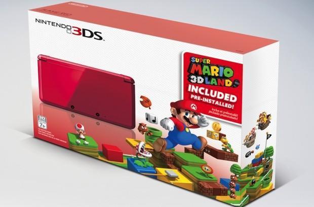 Nintendo bundles red 3DS with Super Mario 3D Land starting November 23rd