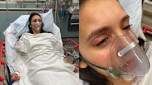 Nina Dobrev assures fans she's OK after Julianne Hough accompanies her to hospital