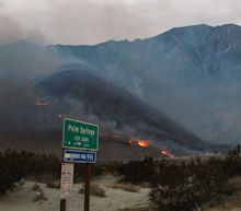 In California: Ruth Bader Ginsburg dies; Snow Fire threatens Palm Springs area