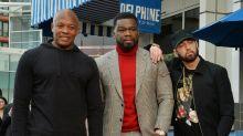 50 Cent erhält Hollywood-Stern - und eine Lobhudelei von Eminem