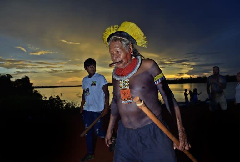 Chief Raoni condemns Bolsonaro 'lie' on Amazon fires