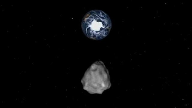 130,000-Ton Asteroid Heading Toward Earth