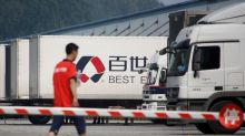 Alibaba-backed Best to list delivery business in Hong Kong - sources