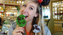 You have to see this neon green churro at Disneyland before it's too late