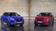 Nouveau Nissan Qashqai contre Peugeot 3008 restylé, le match en vidéo !