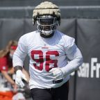 2 49ers miss Day 3 of training camp with injuries