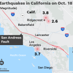 3.7 magnitude earthquake shakes Los Angeles, triggers about a dozen burglar alarms: LAPD