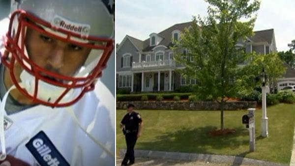 Police again search home of Patriots' Hernandez