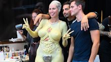 Heidi Klum documents her Halloween costume transformation and more news from the week
