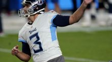 Stephen Gostkowski, cut by the Patriots this offseason, struggles badly in first game with Titans
