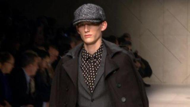Style.com Fashion Shows - Burberry Prorsum Fall 2012 Menswear