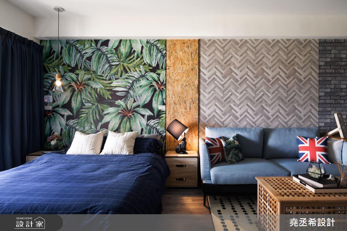熱帶雨林遇上Loft風!10坪單身宅這樣設計超養眼