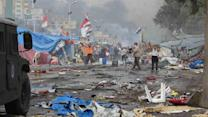 Police storm protest camps; 278 dead across Egypt