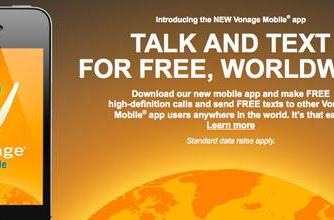 Vonage Mobile app allows free calls and texts worldwide to fellow Android and iOS users