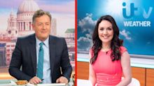 Piers Morgan branded creepy over comments about co-host Laura Tobin's sexy' skintight trousers
