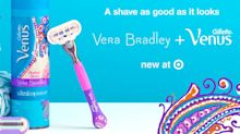 P&G partners with Vera Bradley on designer shaving products