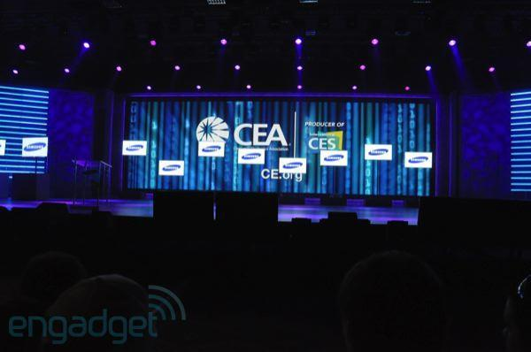 Live from Samsung's CES 2011 keynote
