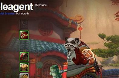 Neutral pandaren Doubleagent hits level 90