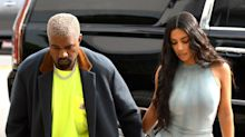 Kim Kardashian and Kanye West Hold Hands While Shopping Together During Miami Trip