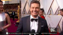 Oscars: Ryan Seacrest avoids #MeToo mentions, lands fewer A-listers on red carpet