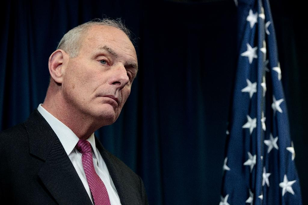 "US Secretary of Homeland Security John Kelly said the US-Mexico border wall ordered by President Donald Trump would be built where needed first ""then it will be filled in"""