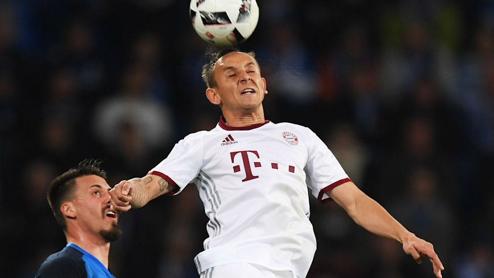 Bayern defender Rafinha eyes treble ahead of Dortmund showdown