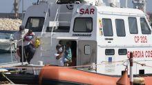 Italien lässt Bootsflüchtlinge an Land
