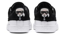 Karl Lagerfeld Puts His Rock-Chic Spin on a New Puma Collaboration