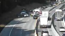 Traffic snarl caused by crash blocks lanes on highway headed to Columbia