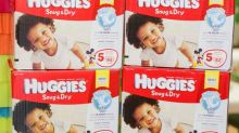 Huggies to eliminate plastic from baby wipe range in UK