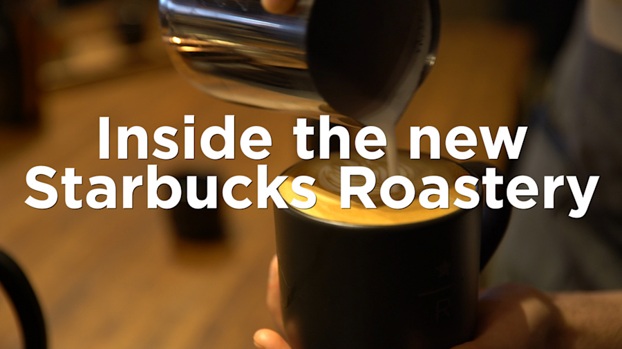 Inside Starbucks' massive new NYC Roastery