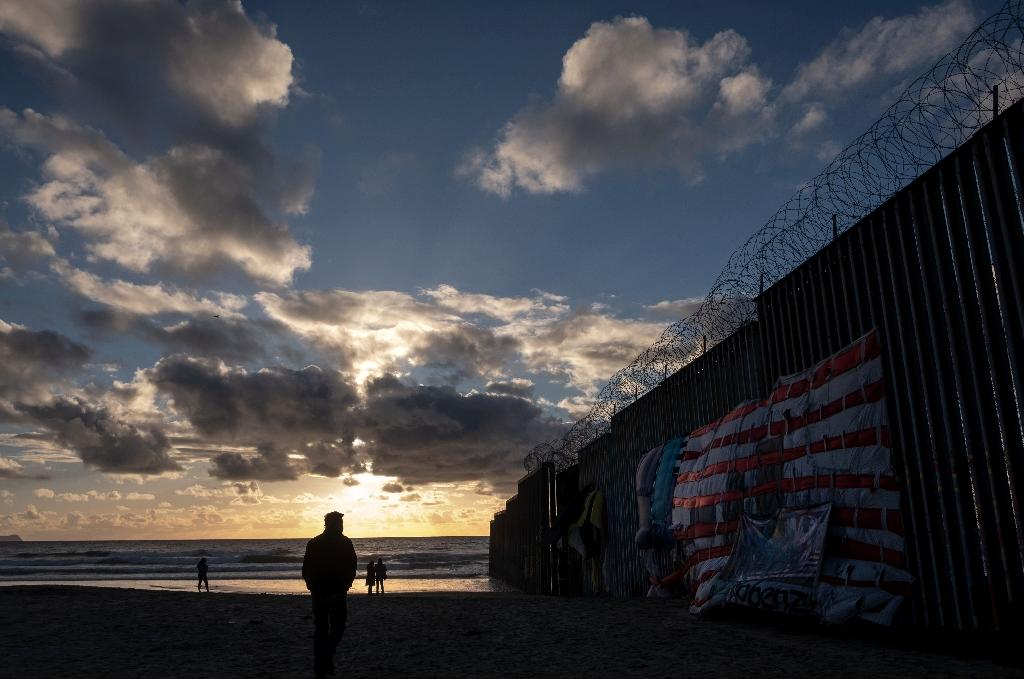 Frustrated by Congress's refusal to provide the budget to build a border wall, Trump declared a national emergency last month to bypass lawmakers and unlock $8 billion in funding (AFP Photo/GUILLERMO ARIAS)