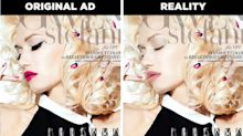 Así serían los anuncios de belleza utilizando solo el producto que promocionan