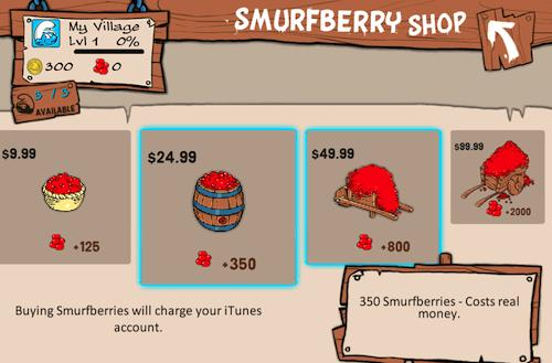 Well, that's just Smurfy! Apple reportedly talks to Capcom about Smurfs' Village