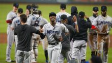 Marlins shock the world, become first NL team to make playoffs after 100-loss season