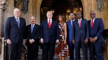 Trump dangles investment to Caribbean leaders who back Venezuela's Guaido