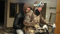Safe at Home! Chipper Jones Aids MLB Star in Snowstorm Rescue